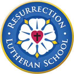 Resurrection Lutheran School Logo